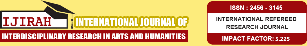 International Journal of Interdisciplinary Research in Arts